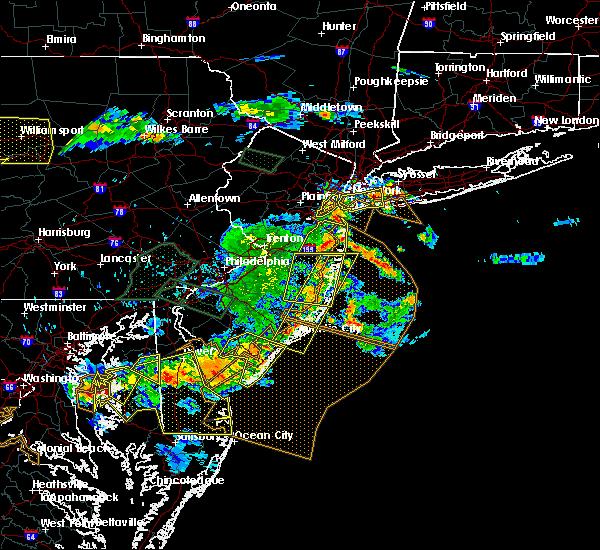Radar Image for Severe Thunderstorms near Silver Ridge, NJ at 6/29/2019 5:46 PM EDT