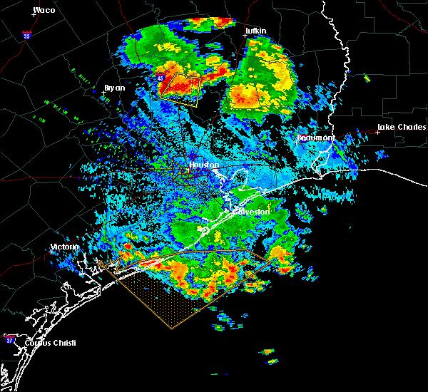 Radar Image for Severe Thunderstorms near Huntsville, TX at 6/29/2019 4:53 PM CDT