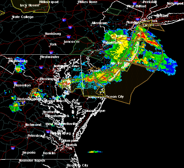 Radar Image for Severe Thunderstorms near Preston, MD at 6/29/2019 5:54 PM EDT
