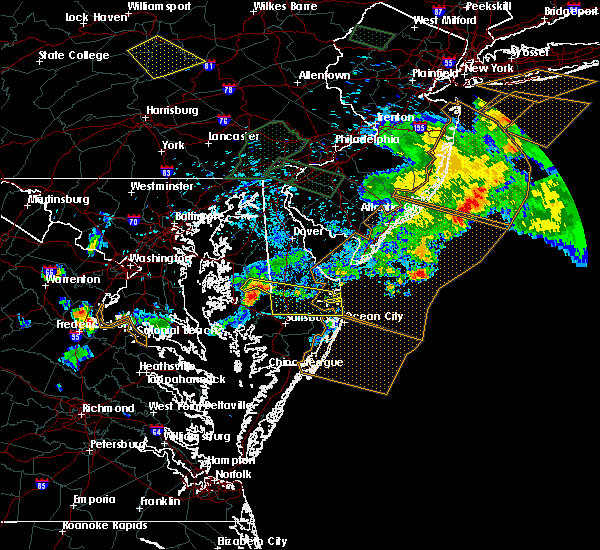Radar Image for Severe Thunderstorms near Preston, MD at 6/29/2019 6:29 PM EDT