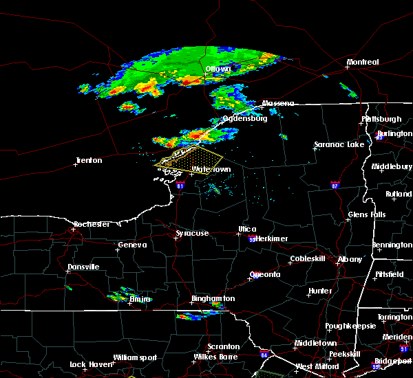 Radar Image for Severe Thunderstorms near Oxbow, NY at 6/29/2019 6:34 PM EDT