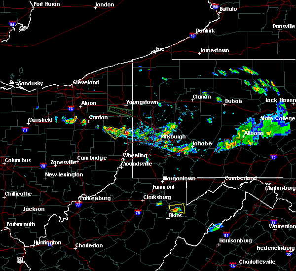 Radar Image for Severe Thunderstorms near Bergholz, OH at 6/29/2019 6:39 PM EDT
