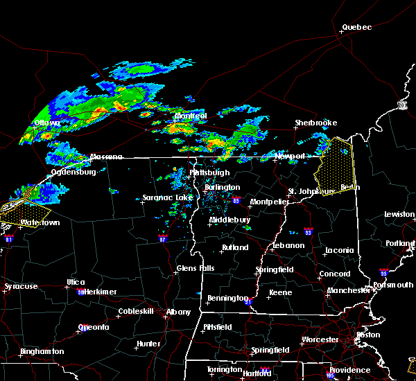 Radar Image for Severe Thunderstorms near Berlin, NH at 6/29/2019 6:41 PM EDT