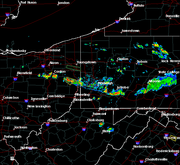 Radar Image for Severe Thunderstorms near Bergholz, OH at 6/29/2019 6:56 PM EDT