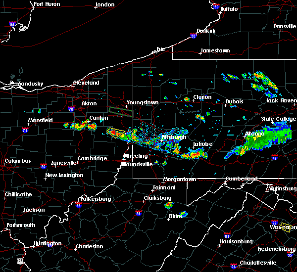 Radar Image for Severe Thunderstorms near Bergholz, OH at 6/29/2019 6:59 PM EDT