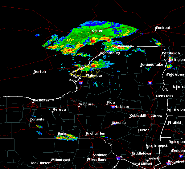 Radar Image for Severe Thunderstorms near Oxbow, NY at 6/29/2019 7:08 PM EDT