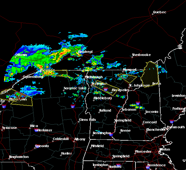 Radar Image for Severe Thunderstorms near South Burlington, VT at 6/29/2019 7:30 PM EDT