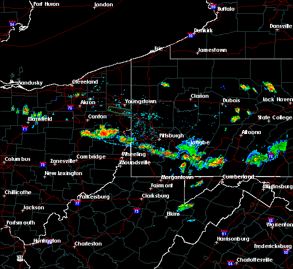 Radar Image for Severe Thunderstorms near Bergholz, OH at 6/29/2019 7:46 PM EDT