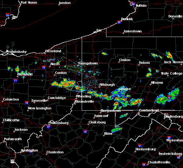 Radar Image for Severe Thunderstorms near Bergholz, OH at 6/29/2019 7:51 PM EDT