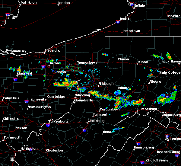 Radar Image for Severe Thunderstorms near Bergholz, OH at 6/29/2019 7:58 PM EDT