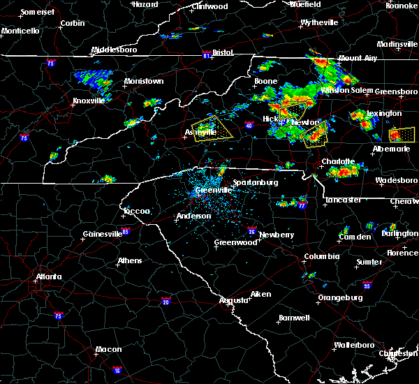 Radar Image for Severe Thunderstorms near Taylorsville, NC at 6/19/2015 4:06 PM EDT