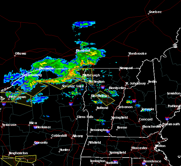 Radar Image for Severe Thunderstorms near South Burlington, VT at 6/29/2019 8:46 PM EDT