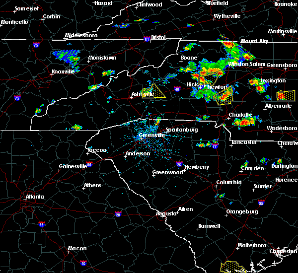Radar Image for Severe Thunderstorms near Davidson, NC at 6/19/2015 4:17 PM EDT