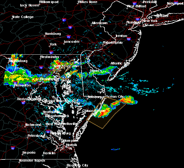 Radar Image for Severe Thunderstorms near Essex, MD at 6/29/2019 11:43 PM EDT