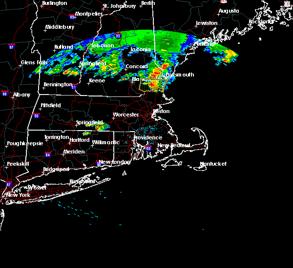 Radar Image for Severe Thunderstorms near Portsmouth, NH at 6/29/2019 11:57 PM EDT