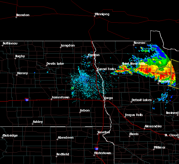 Radar Image for Severe Thunderstorms near Turtle River, MN at 6/30/2019 1:18 AM CDT