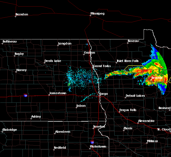 Radar Image for Severe Thunderstorms near Turtle River, MN at 6/30/2019 2:28 AM CDT