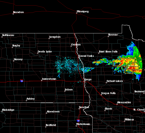 Radar Image for Severe Thunderstorms near Laporte, MN at 6/30/2019 2:44 AM CDT