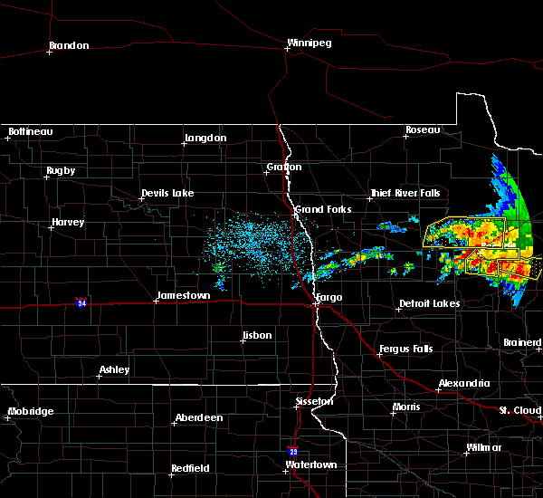 Radar Image for Severe Thunderstorms near Turtle River, MN at 6/30/2019 3:11 AM CDT