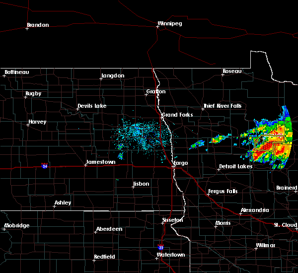 Radar Image for Severe Thunderstorms near Laporte, MN at 6/30/2019 3:39 AM CDT