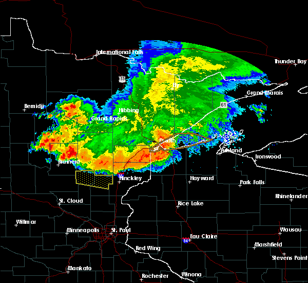 Radar Image for Severe Thunderstorms near Mora, MN at 6/30/2019 4:54 AM CDT