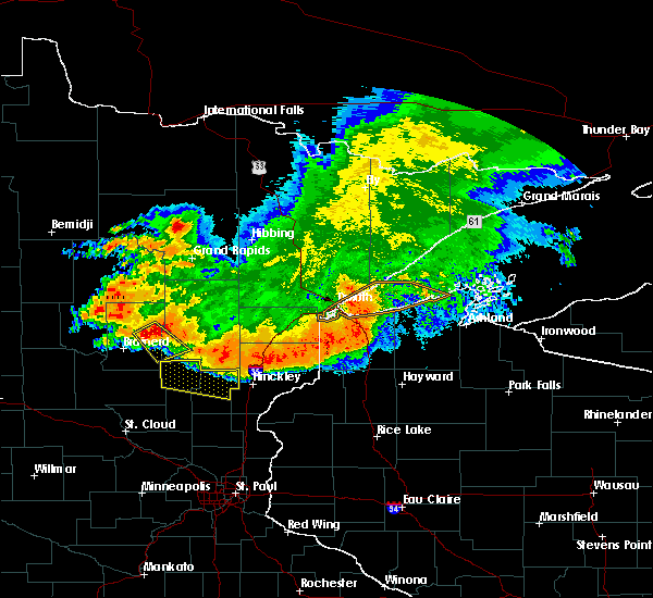 Radar Image for Severe Thunderstorms near Ironton, MN at 6/30/2019 5:08 AM CDT