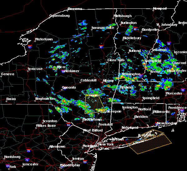Radar Image for Severe Thunderstorms near Hurley, NY at 6/30/2019 1:08 PM EDT