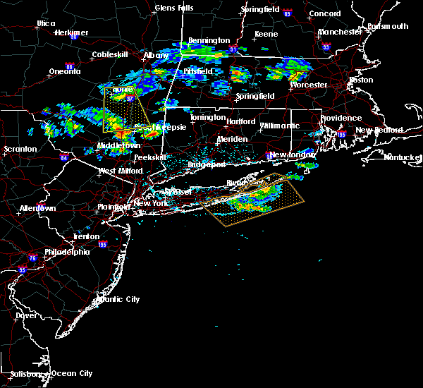 Radar Image for Severe Thunderstorms near Pawling, NY at 6/30/2019 1:21 PM EDT