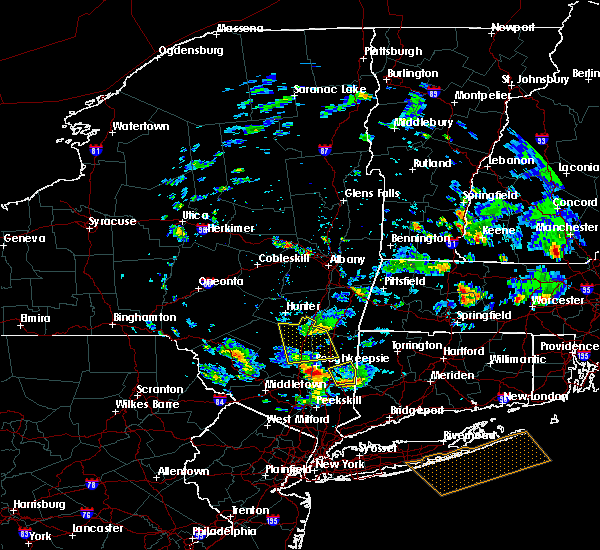 Radar Image for Severe Thunderstorms near Hurley, NY at 6/30/2019 1:33 PM EDT