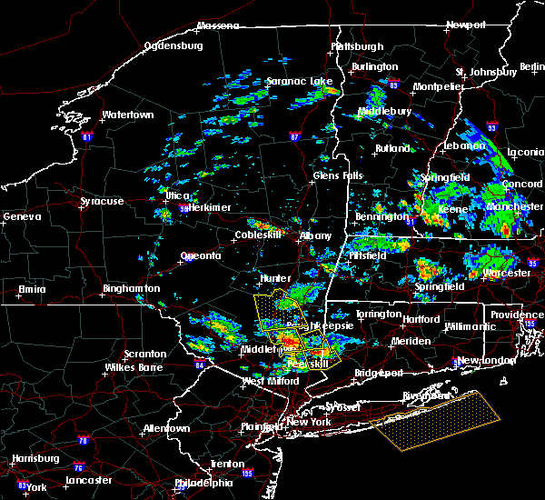 Radar Image for Severe Thunderstorms near Hurley, NY at 6/30/2019 1:39 PM EDT