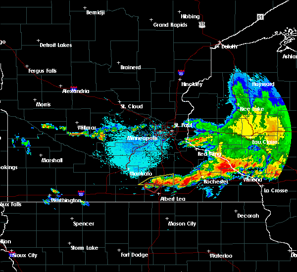 Radar Image for Severe Thunderstorms near Manchester, MN at 6/30/2019 2:44 PM CDT