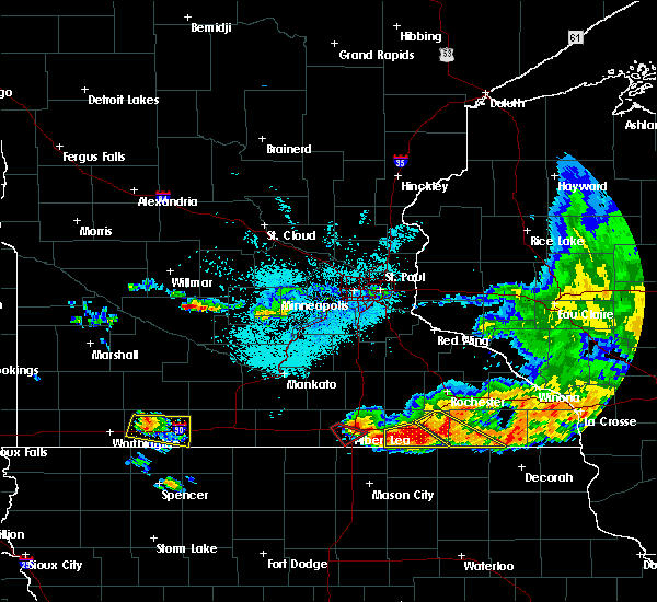 Radar Image for Severe Thunderstorms near Twin Lakes, MN at 6/30/2019 3:24 PM CDT