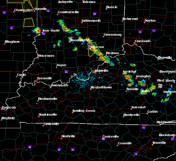 Radar Image for Severe Thunderstorms near Hanover, IN at 6/30/2019 4:35 PM EDT