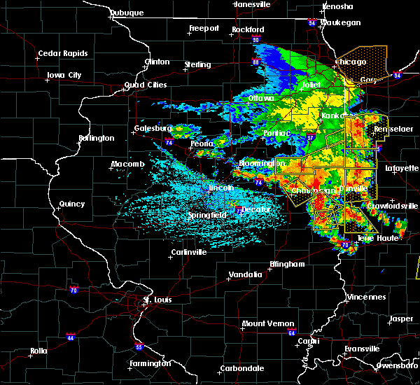 Radar Image for Severe Thunderstorms near Fairmount, IL at 6/30/2019 4:11 PM CDT