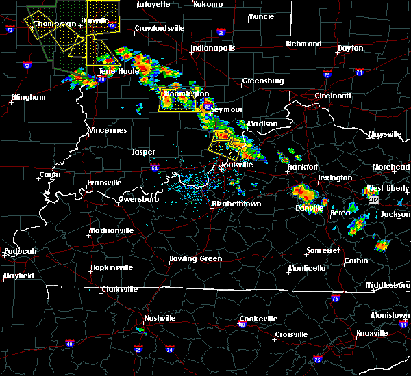 Radar Image for Severe Thunderstorms near Henryville, IN at 6/30/2019 5:19 PM EDT