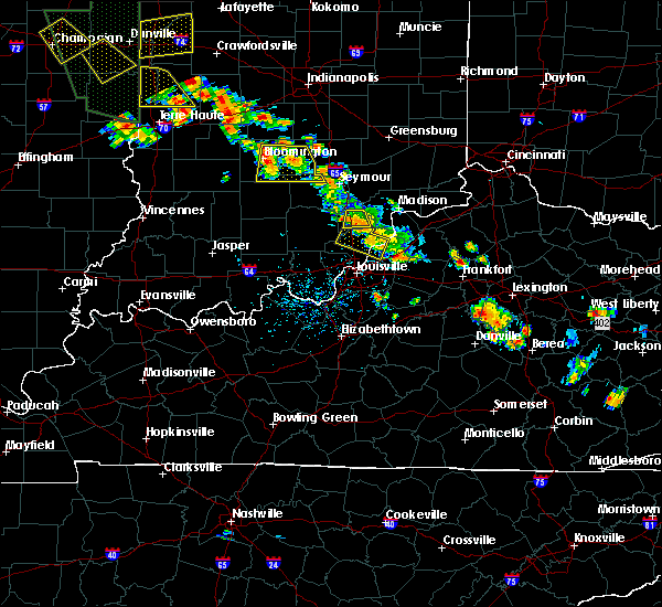 Radar Image for Severe Thunderstorms near Frankfort, KY at 6/30/2019 5:29 PM EDT