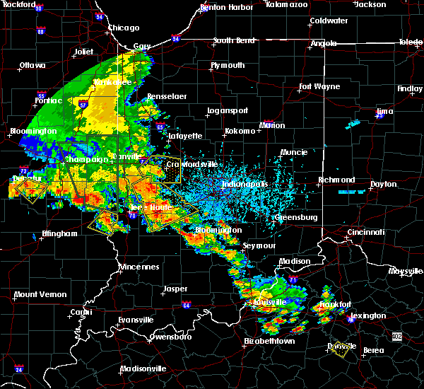 Radar Image for Severe Thunderstorms near Whitestown, IN at 6/30/2019 6:06 PM EDT
