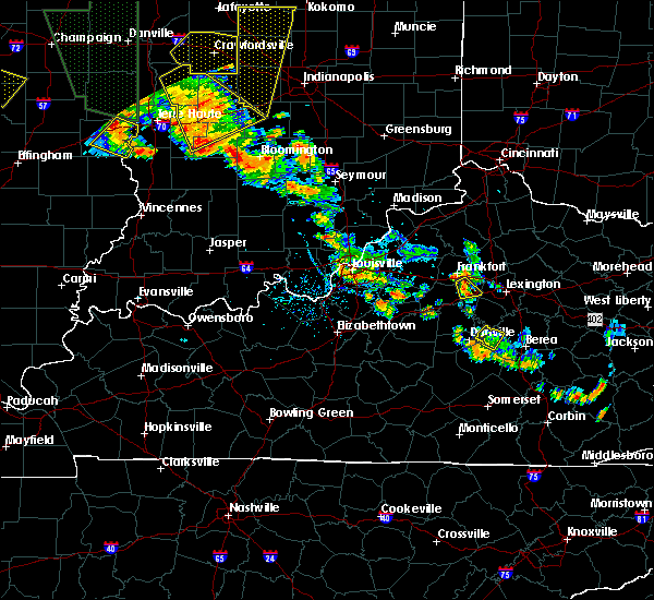 Radar Image for Severe Thunderstorms near Versailles, KY at 6/30/2019 6:16 PM EDT