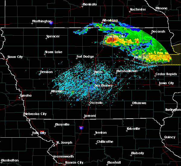 Radar Image for Severe Thunderstorms near Portland, IA at 6/30/2019 5:18 PM CDT
