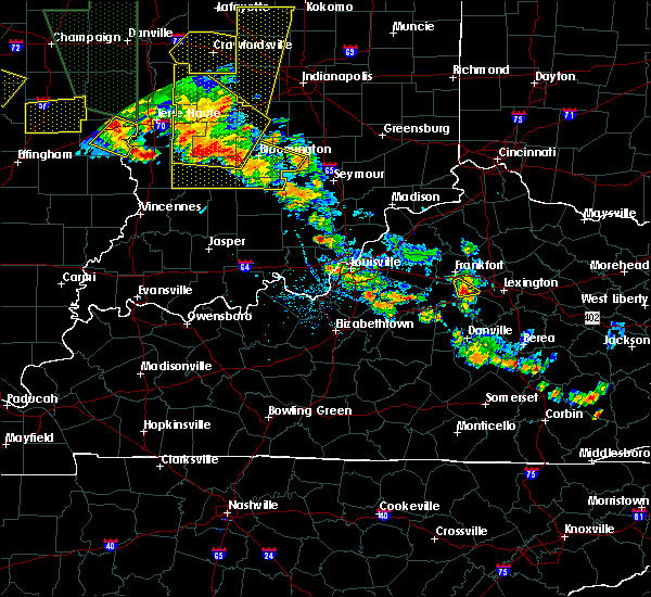Radar Image for Severe Thunderstorms near Versailles, KY at 6/30/2019 6:30 PM EDT