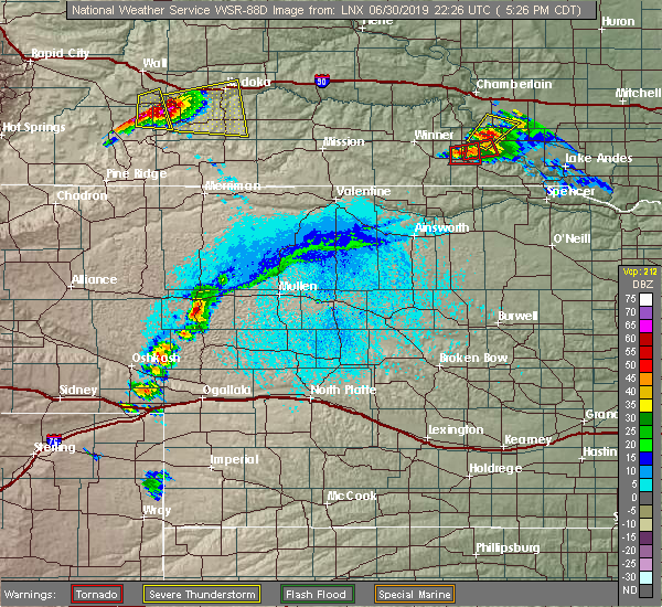Radar Image for Severe Thunderstorms near Dallas, SD at 6/30/2019 5:30 PM CDT