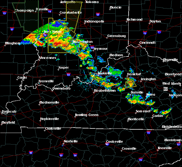 Radar Image for Severe Thunderstorms near Versailles, KY at 6/30/2019 6:35 PM EDT