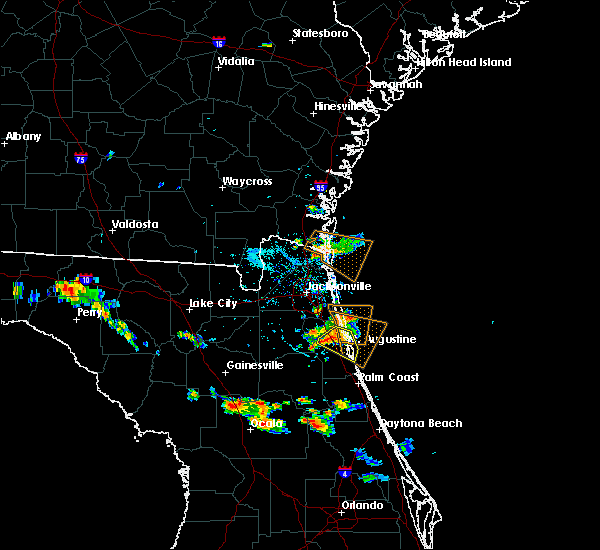 Radar Image for Severe Thunderstorms near World Golf Village, FL at 6/30/2019 7:01 PM EDT