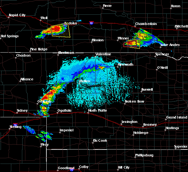 Radar Image for Severe Thunderstorms near Dallas, SD at 6/30/2019 6:01 PM CDT