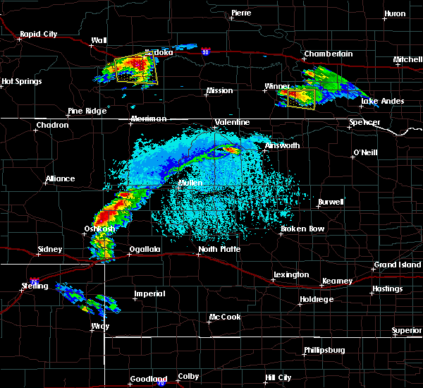 Radar Image for Severe Thunderstorms near Dallas, SD at 6/30/2019 6:13 PM CDT