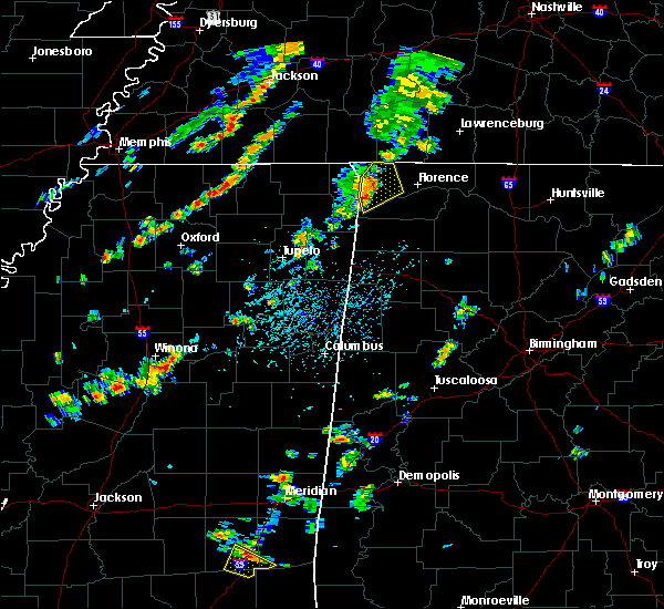 Radar Image for Severe Thunderstorms near Cherokee, AL at 6/19/2015 4:20 PM CDT