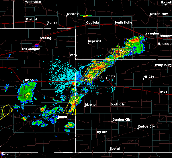 Radar Image for Severe Thunderstorms near Indianola, NE at 7/1/2019 6:01 PM CDT