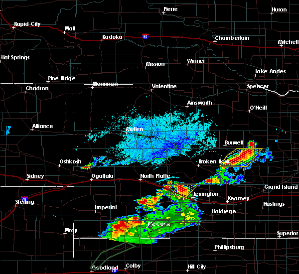 Radar Image for Severe Thunderstorms near Cozad, NE at 7/1/2019 7:12 PM CDT