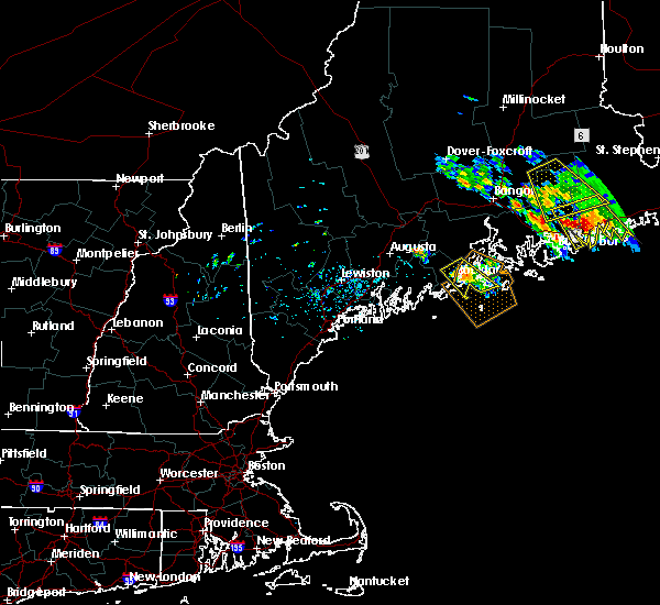Radar Image for Severe Thunderstorms near Rockland, ME at 7/2/2019 2:16 PM EDT