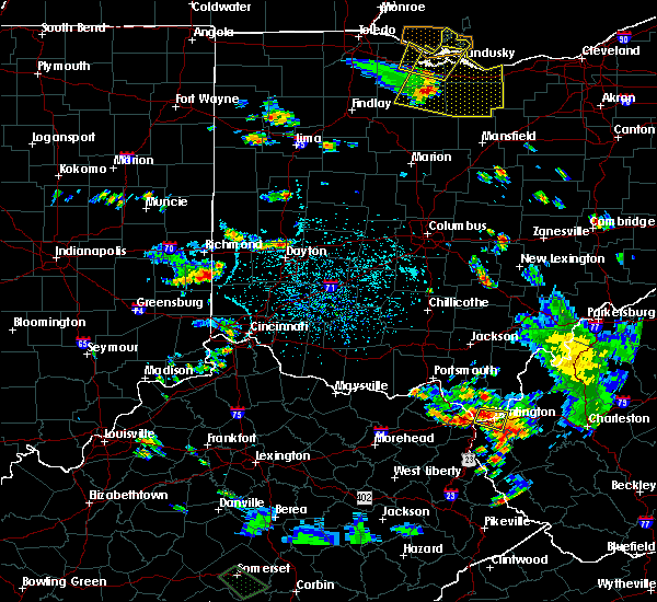 Radar Image for Severe Thunderstorms near Dayton, OH at 7/2/2019 3:34 PM EDT